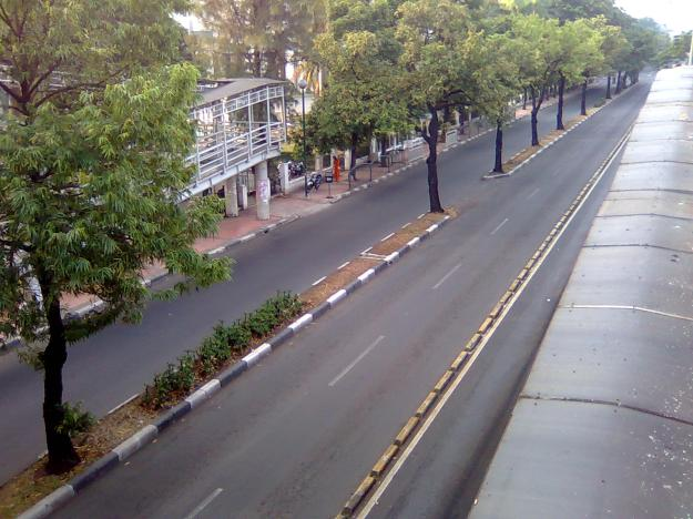 Jakarta sepi banget