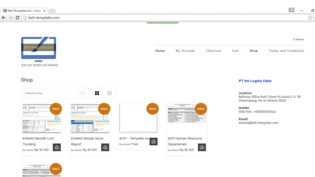Website Beli-Template.com
