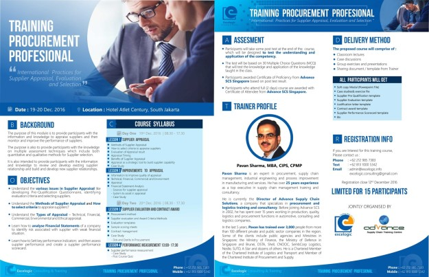 training-procurement